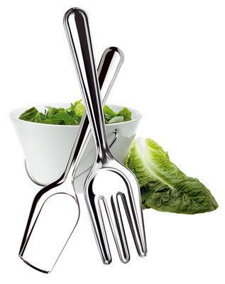 Scopri posate da insalata inox di eva solo made in - Posate da portata ...
