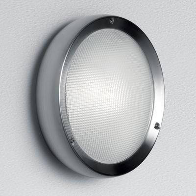 Applique Niki LED Plafonnier Version verre Artemide inox satiné en métal
