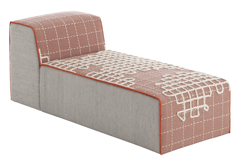 m ridienne bandas l 155 cm rose gan. Black Bedroom Furniture Sets. Home Design Ideas