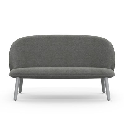 Ace divano destro 2 posti l 145 cm tessuto legno - Divano 2 posti 140 cm ...