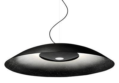 Luminaire - Suspensions - Suspension Whitenoise / LED - Ø 96 cm - Diesel with Foscarini - Noir - Aluminium verni