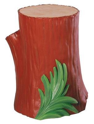 Foto Tavolino d'appoggio Gnomes di Kartell - Marrone - Materiale plastico