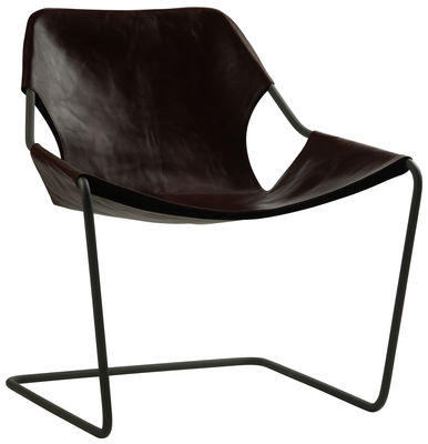 Paulistano Armchair Carbon Version Macassar By Objekto
