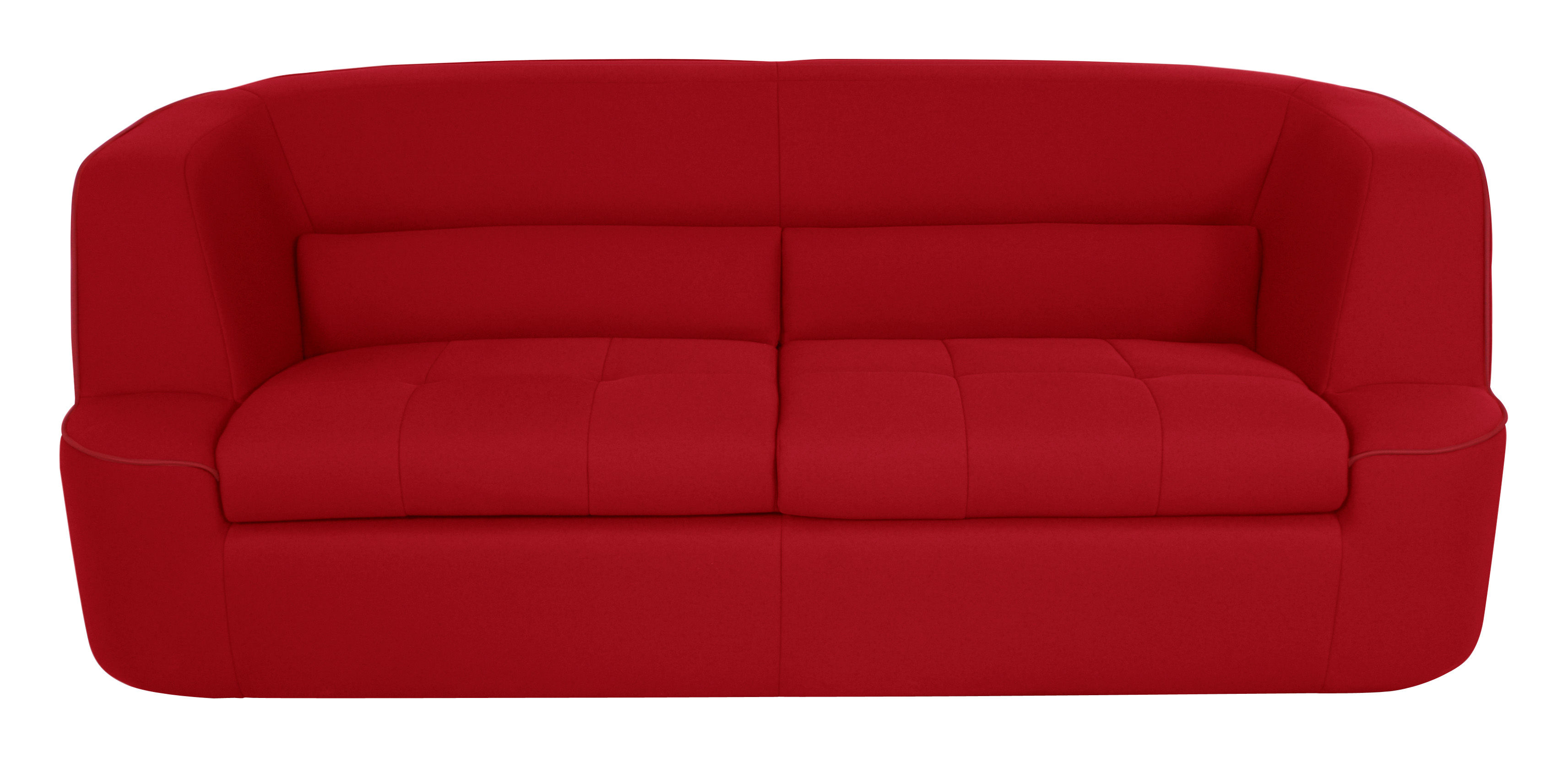 Canapé Convertible Chesty XL By Ora Ito Places L Cm Rouge - Canapé design rouge