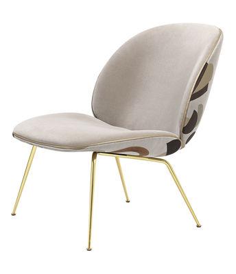 Beetle Lounge Sessel / Gamfratesi - Stoff & Velours - Gubi - Bunt