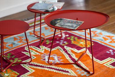 Cocotte tavolino d appoggio sgabello Ø h cm pimento