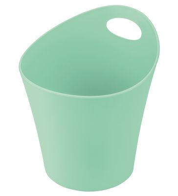 Pot Pottichelli L / Cache-pot - Ø 21 x H 23 cm - Koziol vert menthe en matière plastique