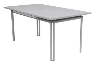 Foto Tavolo con prolunga Costa - allungabile di Fermob - Grigio temporale - Metallo