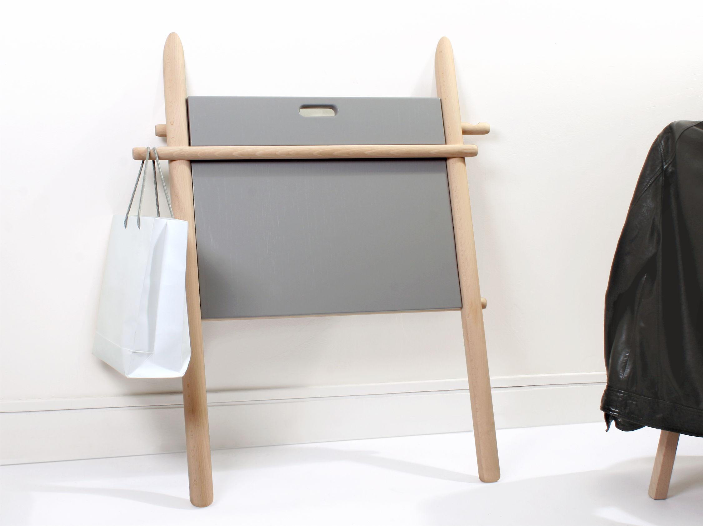 appunto desk beech grey top by enostudio. Black Bedroom Furniture Sets. Home Design Ideas