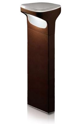 Foto Paletto di illuminazione Sky - h 70 cm di Luceplan - Castagna - Metallo