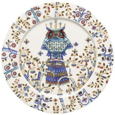 Foto Piatto Taika / Ø 27 cm - Iittala - Bianco - Ceramica