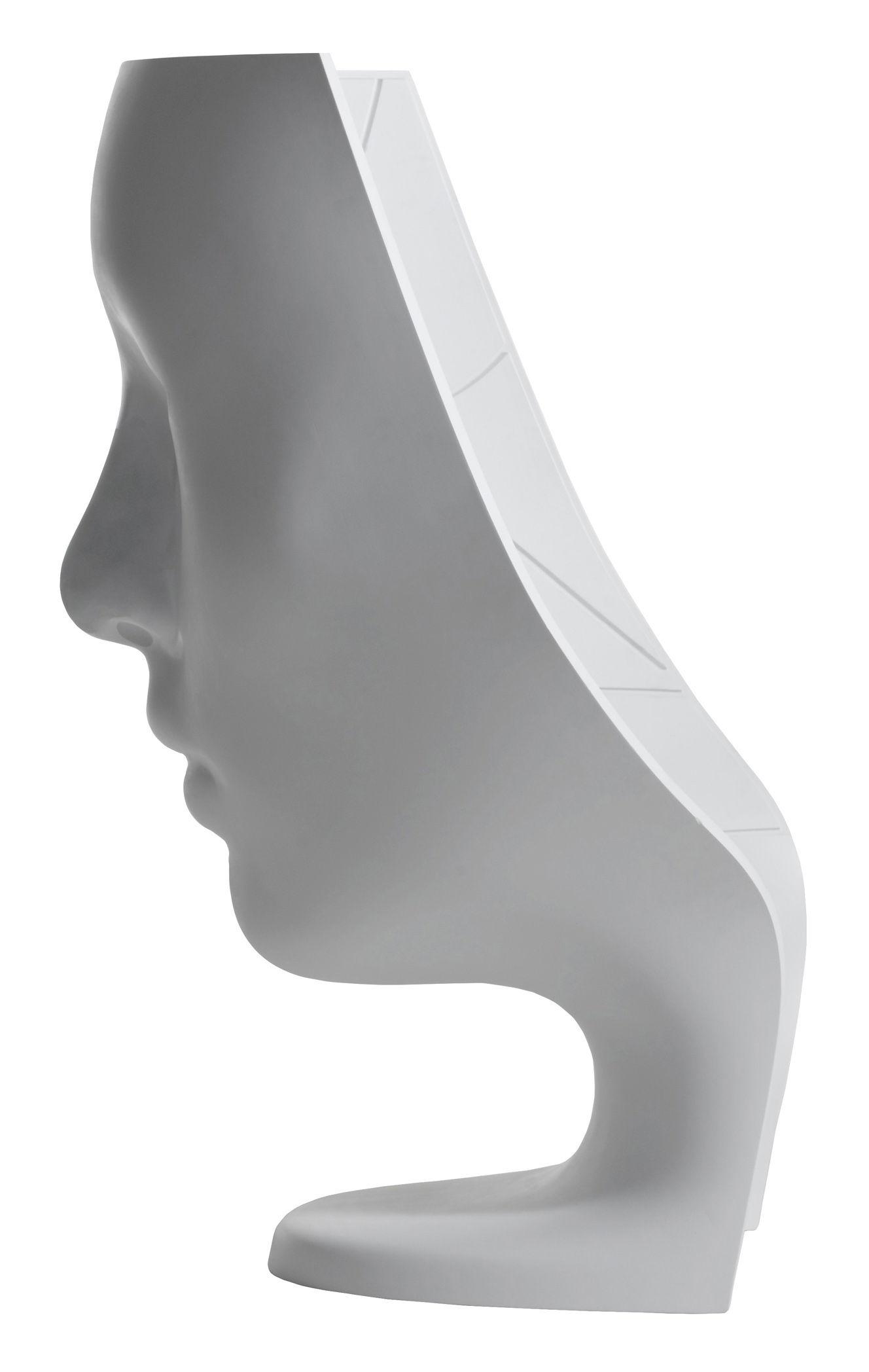 Fauteuil nemo version fixe coloris mat blanc mat driade - Haut de forme pas cher ...