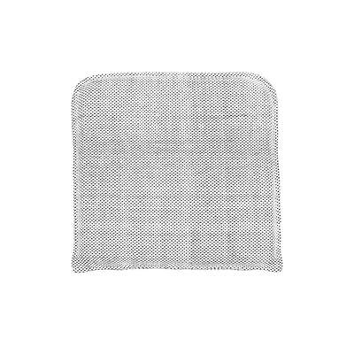 Coussin d'assise Pour fauteuil Cuun House Doctor blanc,noir en tissu
