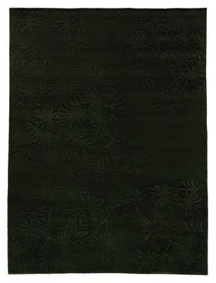 Foto Tappeto Asia - 170 x 240 cm di Nanimarquina - Verde scuro - Tessuto