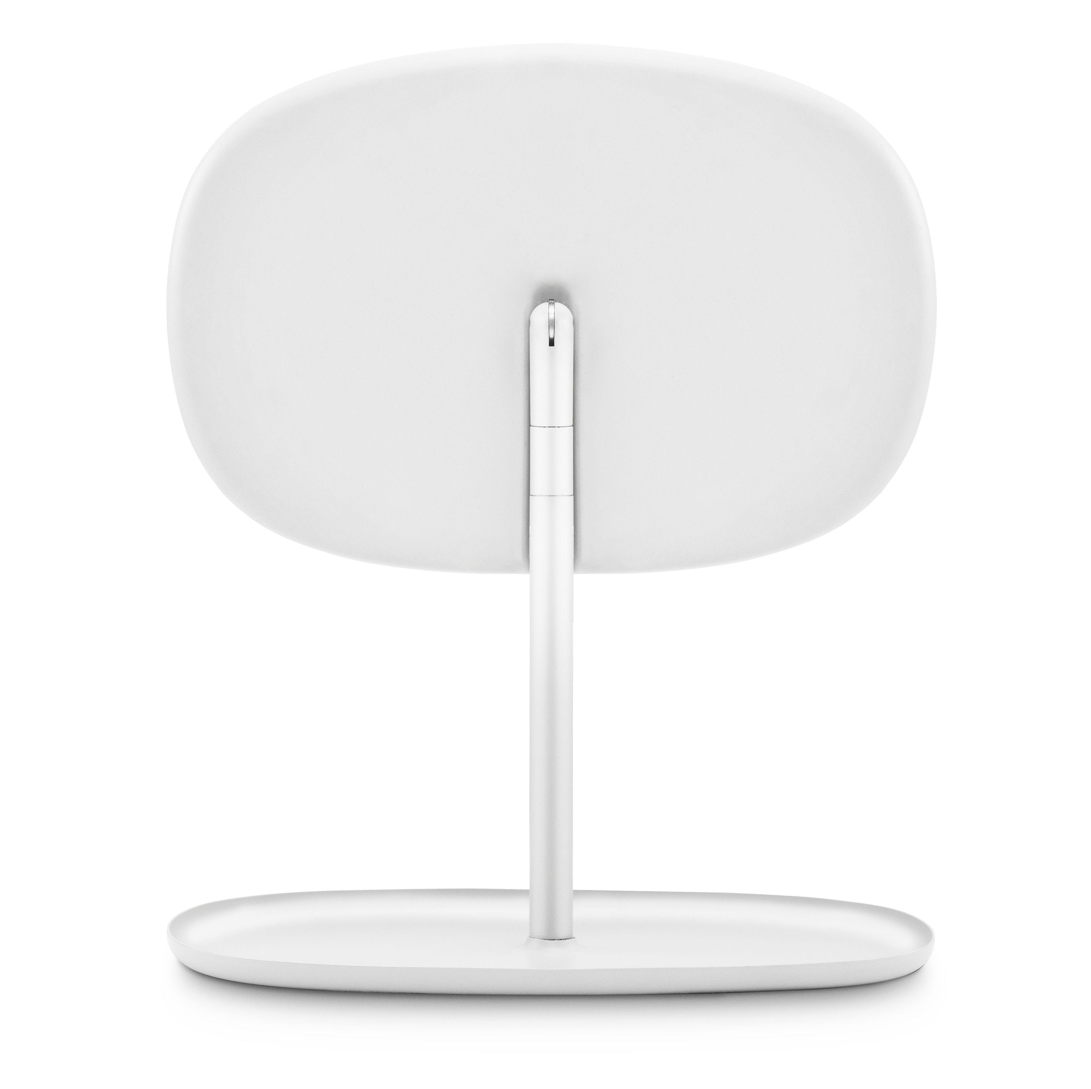 Miroir poser flip orientable vide poche blanc for Miroir orientable