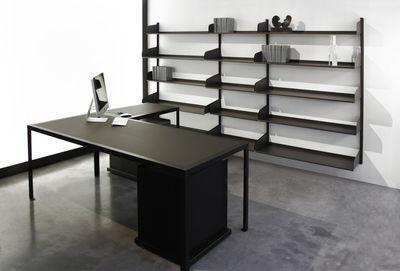 Scrivania Grande Da Ufficio : Scopri modulo dangolo per scrivania tavolo office l 80 cm nero