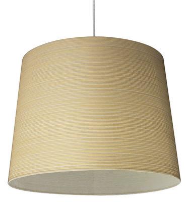 Lighting - Pendant Lighting - Giga-Lite Pendant by Foscarini - Yellow - Fibreglass, Kevlar