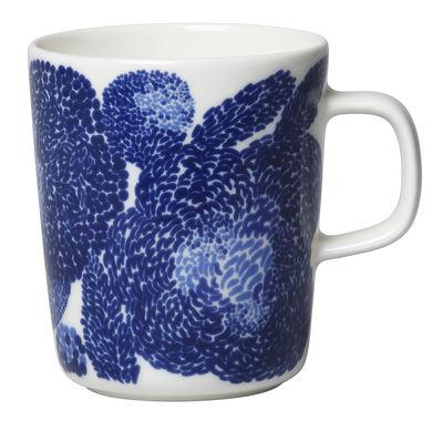 Mug Oiva Mynsteri / 25 cl - Marimekko blanc,bleu en céramique