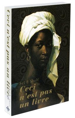 Mobilier - Etagères & bibliothèques - Etagère Self Shelf - Ceci n'est pas un livre / Trompe-l'œil - Zho - Pop Corn - Femme / Turban blanc - Bois peint
