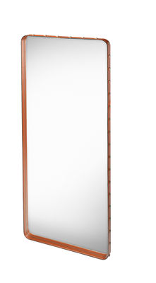 Miroir mural adnet 180 x 70 cm r dition 50 39 cuir for Miroir 90 x 180