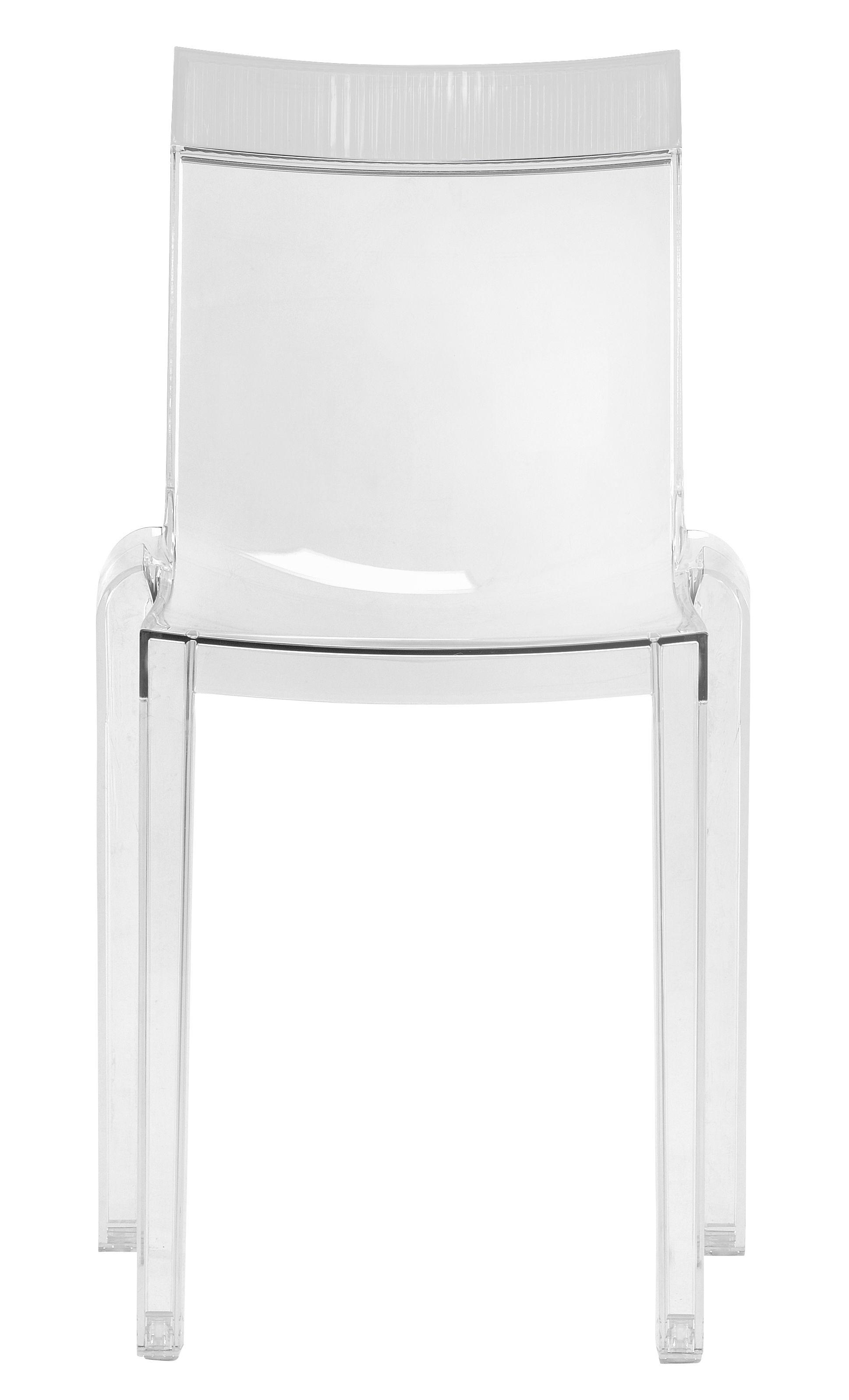 Scopri sedia hi cut struttura trasparente cristallo - Sedia kartell trasparente ...
