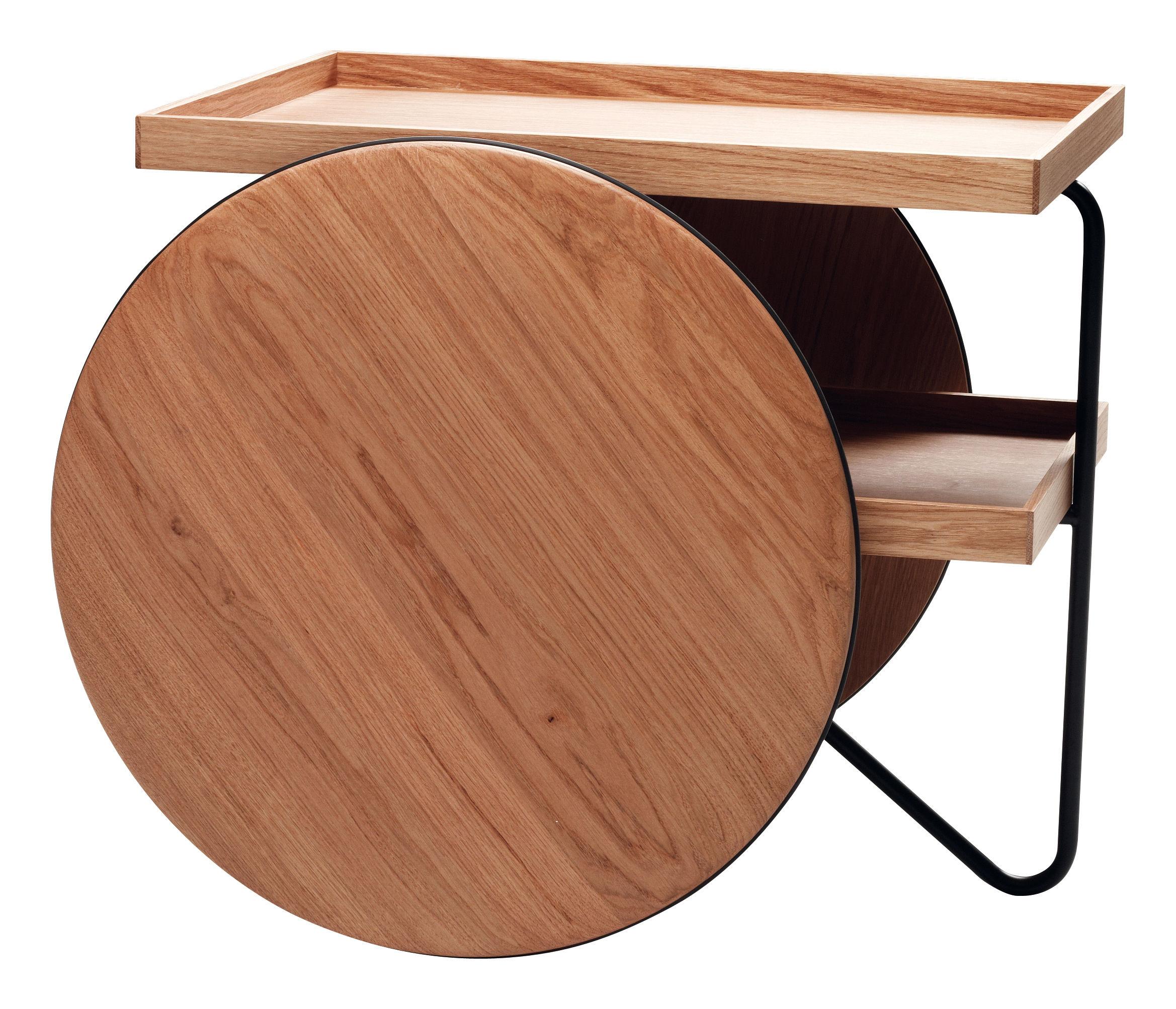 Chariot carrello tavolo d 39 appoggio rovere naturale for Tavolo d appoggio