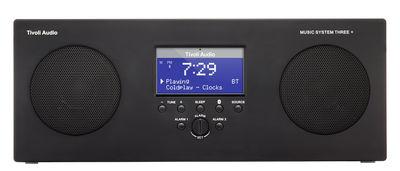 Accessoires - Réveils et radios - Radio-réveil Music System 3+ / Enceinte Bluetooth - Sans fil - Tivoli Audio - Noir - Matière plastique