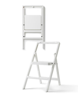 escabeau mini step h 45 cm chaise pliante blanc design house stockholm. Black Bedroom Furniture Sets. Home Design Ideas