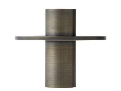 Bougeoir Antipode 01 / Ø 9 cm - Menu laiton bronze en métal