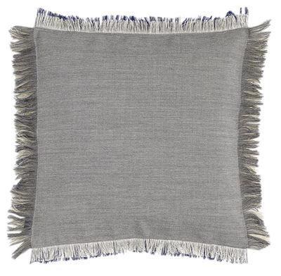 Foto Cuscino Fray / 50 x 50 cm - Hay - Grigio chiaro,Grigio azzurrognolo - Tessuto