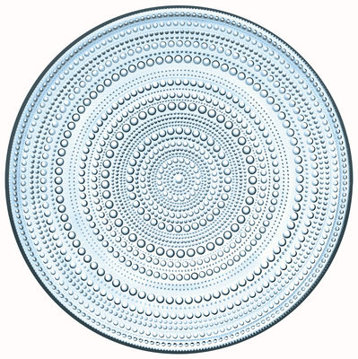 assiette de pr sentation kastehelmi 32 cm bleu ciel iittala. Black Bedroom Furniture Sets. Home Design Ideas