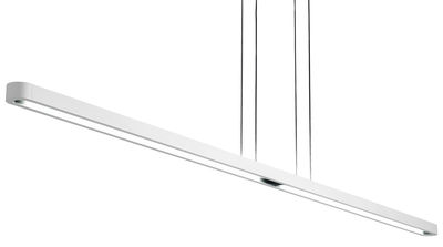 Lighting - Pendant Lighting - Talo Pendant - L 180 cm by Artemide - White - Aluminium
