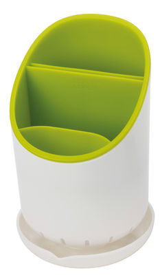 Cuisine - Vaisselle et nettoyage - Egouttoir à couverts Dock - Joseph Joseph - Blanc/Vert - Plastique
