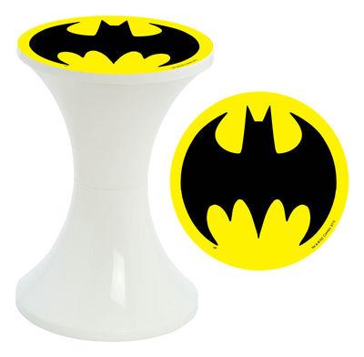 tabouret tam tam super h ros embleme batman motif embl me. Black Bedroom Furniture Sets. Home Design Ideas