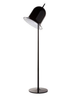 Lighting - Floor lamps - Lolita Floor lamp by Moooi - Black - ABS, Polyurethane