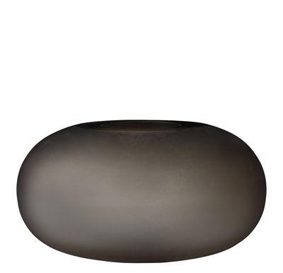Déco - Vases - Vase Hydria / Ø 23 x H 12,5 cm - Verre - AYTM - Chocolat - Verre dépoli