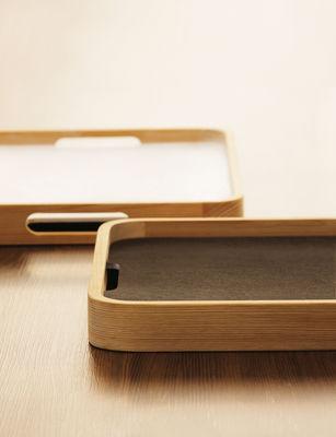 dual tablett doppelseitig verwendbar holz schwarz wei by jia made in design. Black Bedroom Furniture Sets. Home Design Ideas