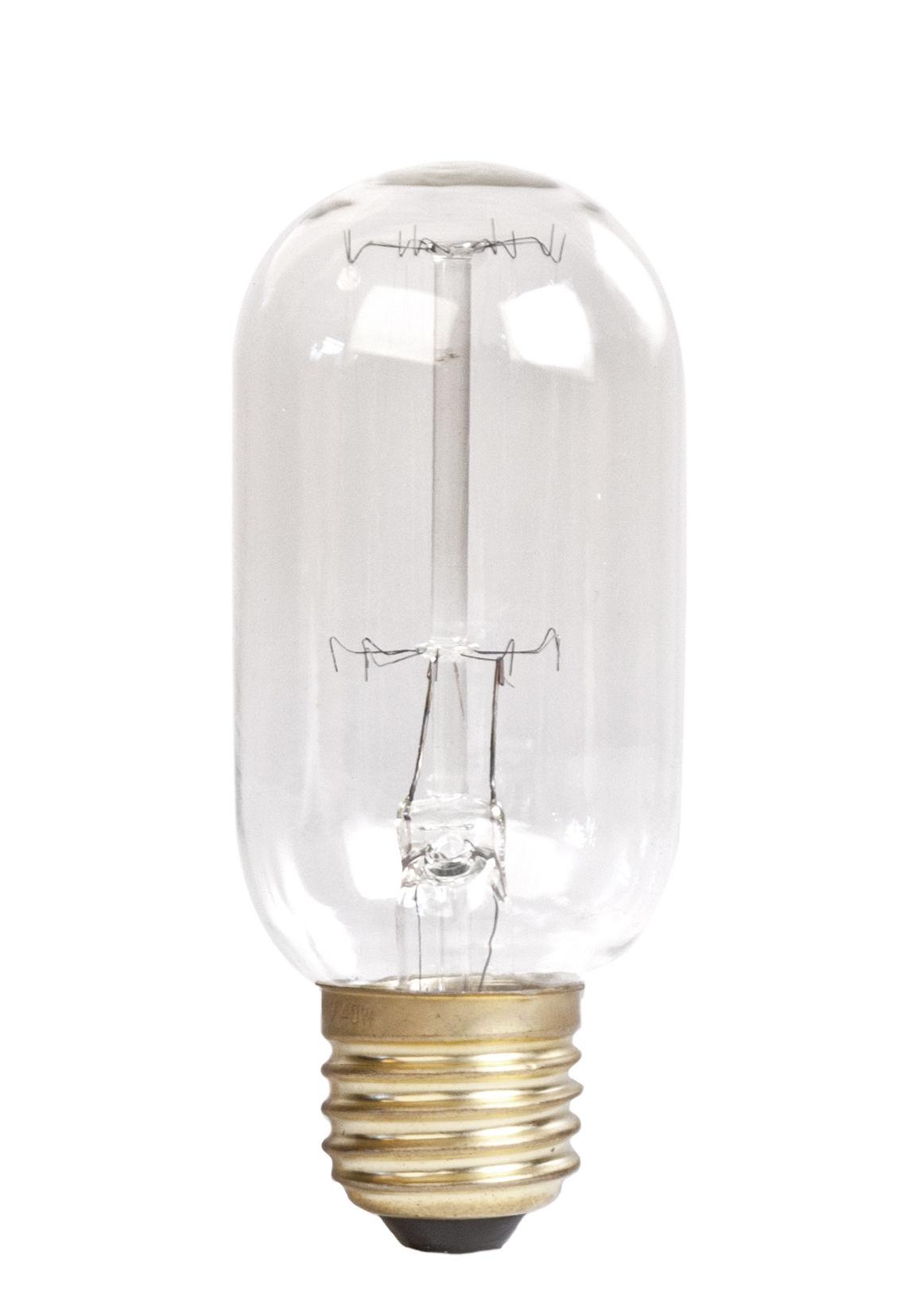 ampoule led filaments e27 t75 40w 500 lumen transparent or pop corn made in design. Black Bedroom Furniture Sets. Home Design Ideas