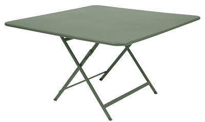 Table pliante Caractère 128 x 128 cm Fermob cactus en métal