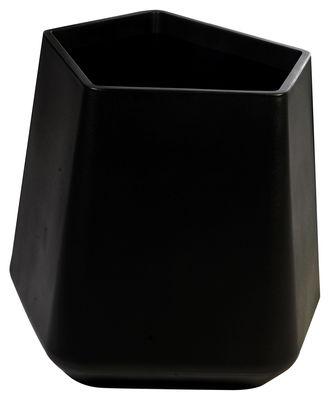 Outdoor - Pots & Plants - Rock Garden Flowerpot - H 59 cm by Qui est Paul ? - Black - Polythene