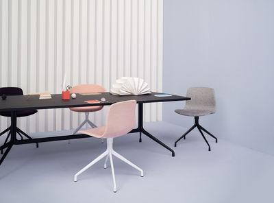 about a chair mit stoffbezug 4 stuhlbeine drehstuhl hay stuhl. Black Bedroom Furniture Sets. Home Design Ideas