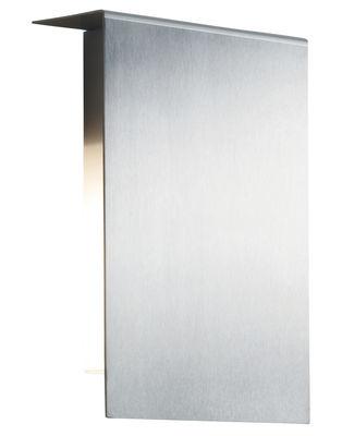Illuminazione - Lampade da parete - Applique Corrubedo Outdoor di Fontana Arte - Inox satinato - Acciaio inossidabile satinato
