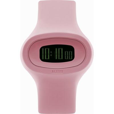 Montre Jak Unisexe Alessi Watches rose en matière plastique