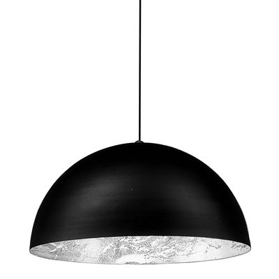 Lighting - Pendant Lighting - Stchu-moon 02 Pendant - LED / Ø 40 cm by Catellani & Smith - Silver - Aluminium, Polyurethane foam, Silver-coloured sheet
