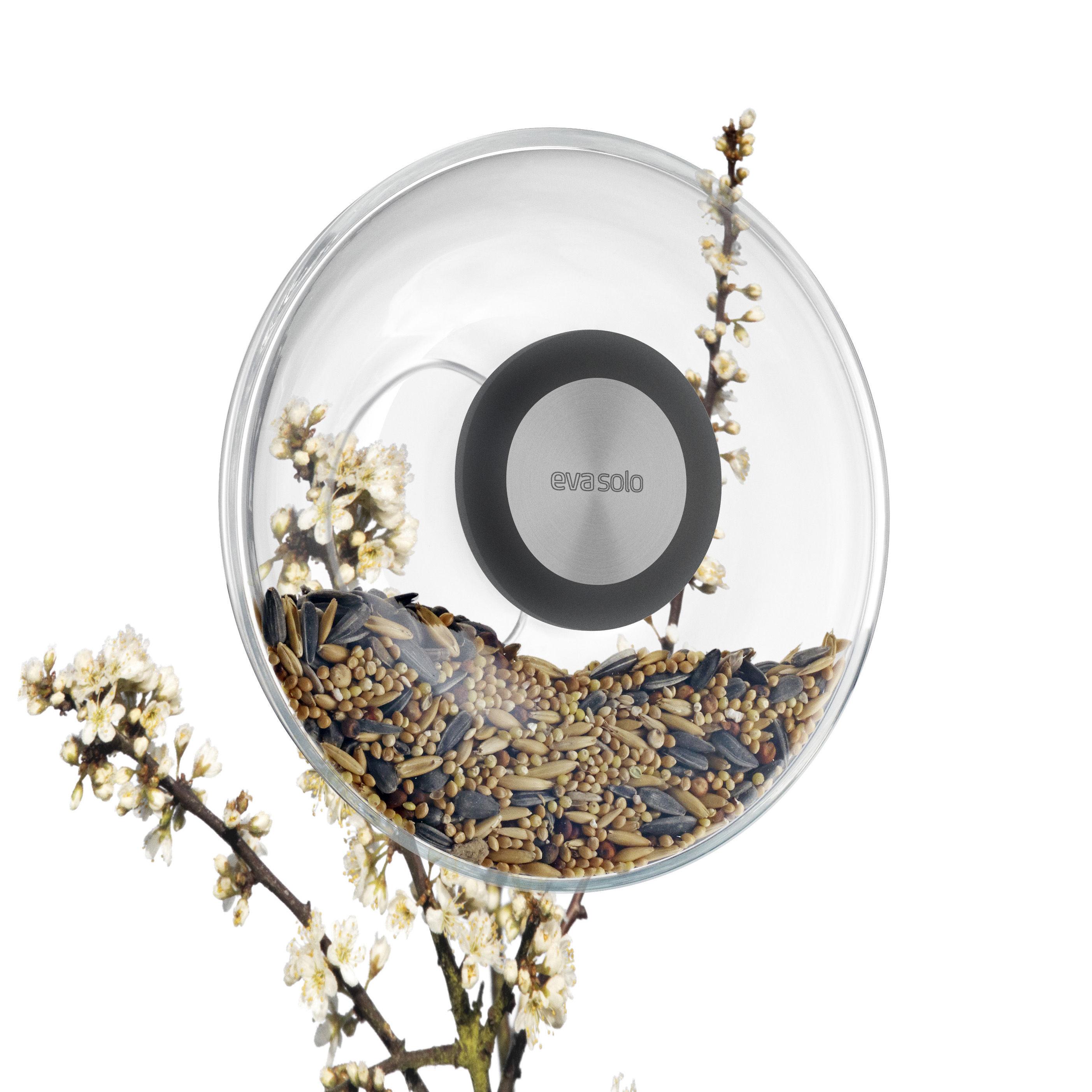Scopri mangiatoia per uccelli rotonda per finestra trasparente nero di eva solo made in - Finestra rotonda e ovale ...