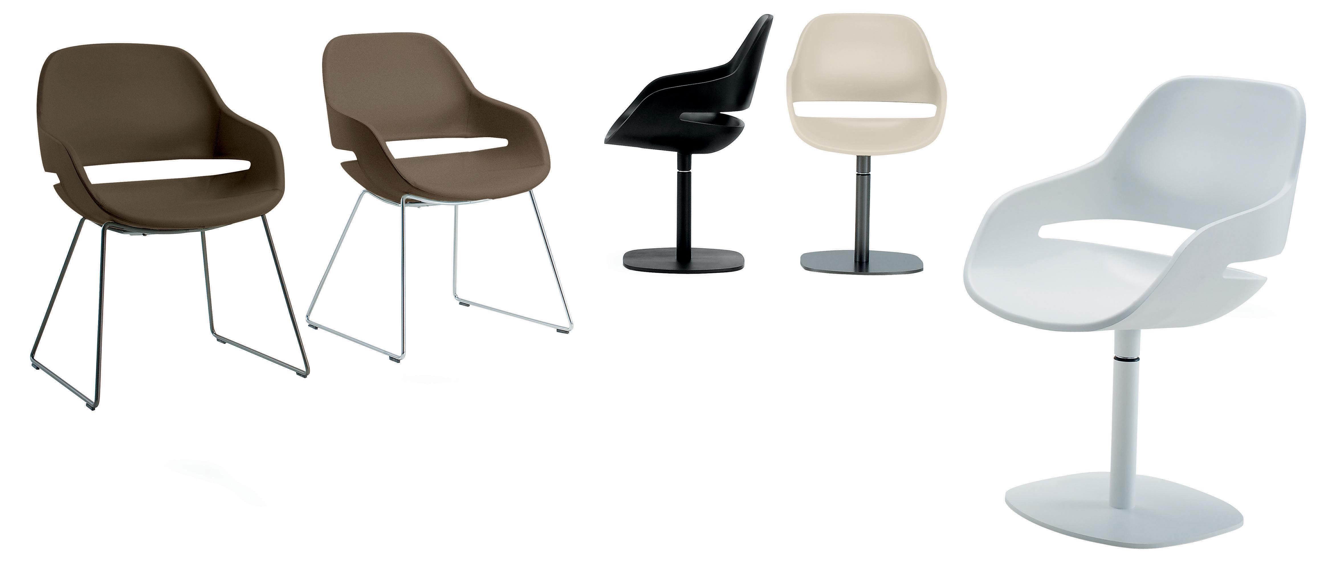 fauteuil pivotant eva coque polyur thane pied m tal pied noir coque noire zanotta. Black Bedroom Furniture Sets. Home Design Ideas
