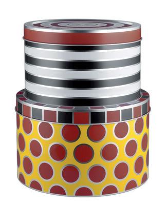 Boîte Circus Set de 2 Métal Alessi multicolore en métal