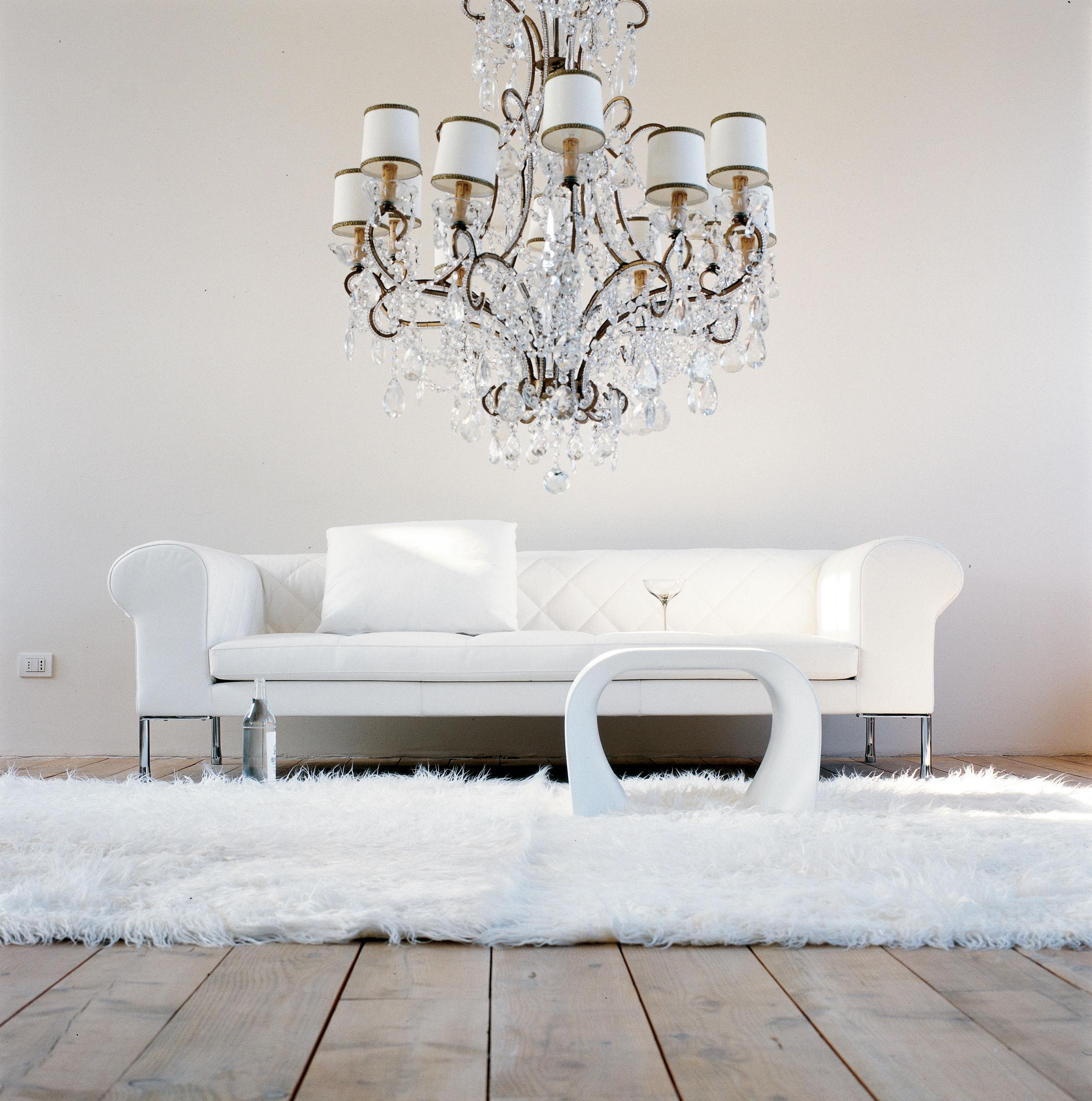 barocco stoff 3 sitzer l 236 cm zanotta sofa. Black Bedroom Furniture Sets. Home Design Ideas