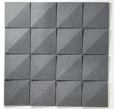 panneau acoustique mural soundwave bella gris anthracite. Black Bedroom Furniture Sets. Home Design Ideas