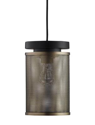 Luminaire - Suspensions - Suspension Casper / Métal perforé - Frandsen - Laiton antique - Métal, Métal perforé